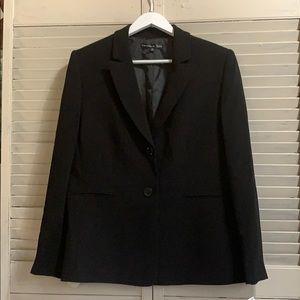 Preston & York Basic Black Blazer size 16 NWT